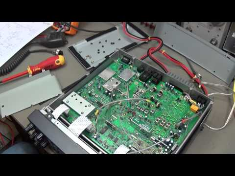 #51 Ham Radio repair: Kenwood TS-570 with different reported problems