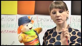 Английский на 5! Урок 8.  Часть 2.  Учимся говорить. Цвета.  Школа иностранных языков «ИтелЛингва»