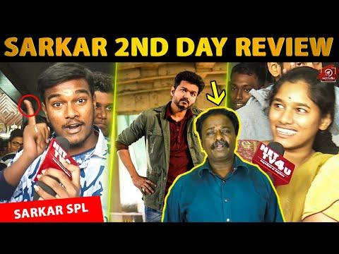 Vijay Fans Angry On Blue Sattai Maaran - SARKAR 2nd Day Public Review | Thalapathy Vijay