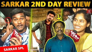 """Vijay Fans Angry On Blue Sattai Maaran"" - SARKAR 2nd Day Public Review 
