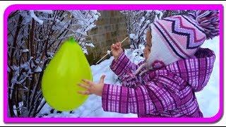 Baloane cu surprize! Spargem baloanele si gasim surpriza  Invatam culorile cu Anabella Show