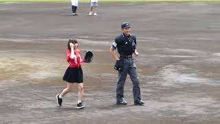 18/05/26 絶対直球女子プレイボールズ「始球式」