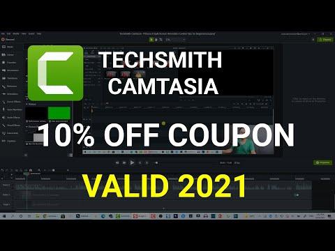 10% Off Camtasia Discount Coupon Code 2019