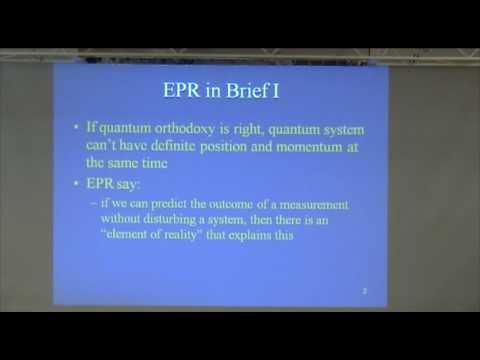 1. Quantum Mechanics & Spooky Action at a Distance