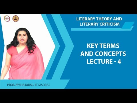 Lecture 4 - Key terms and concepts