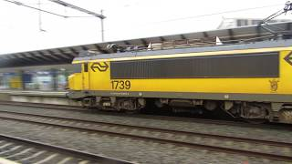 IC Berlijn 1739 komt binnen op station Apeldoorn
