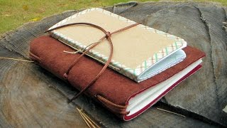 Two Beautiful Journals YOU Can Make!