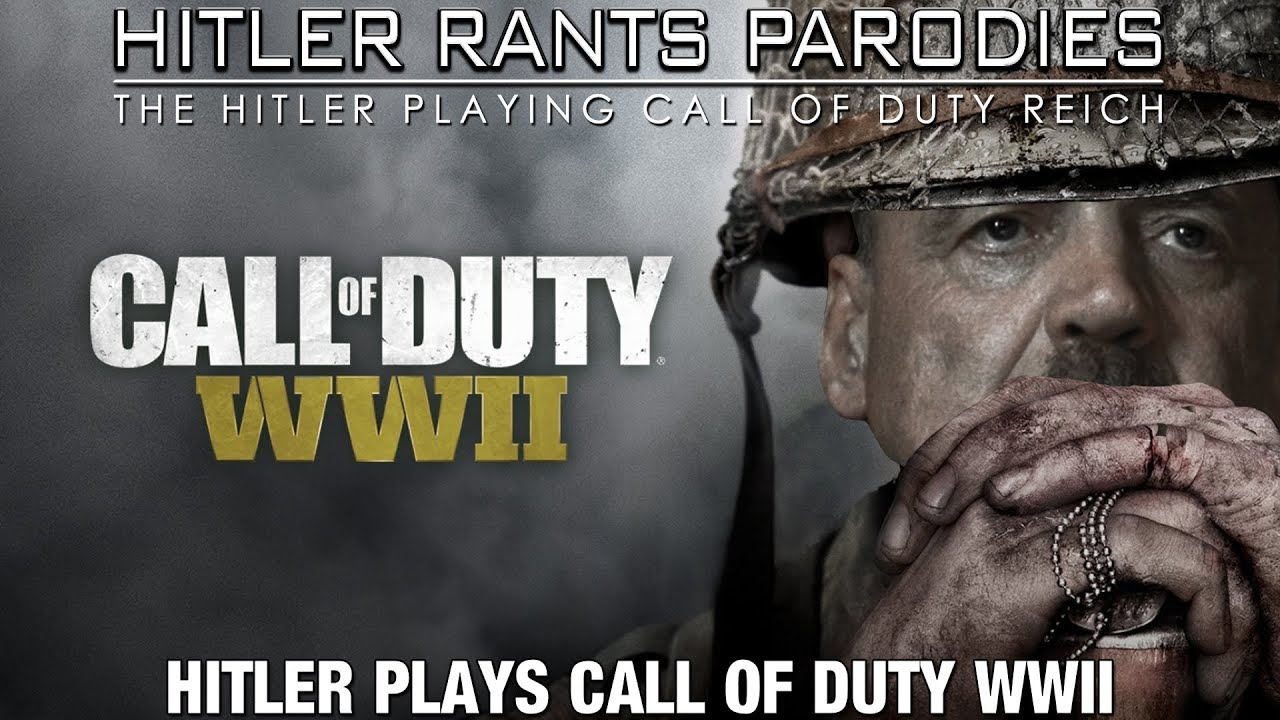 Hitler plays Call of Duty: WWII