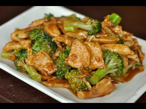 Wok Cooking Stir-Fry Chicken With Broccoli Recipe / World Of