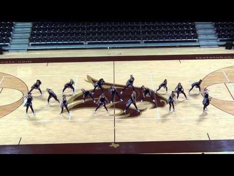 2013 - 2014 Calallen High School Topcats - Team Hip Hop Routine 03222014