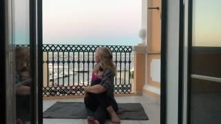 Yoga, lugnt och mjukt