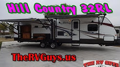 Hit The Road To Full Time RV Fun In This Rooomy 3 Slide Travel Trailer! 2013 Hill Country 32RL