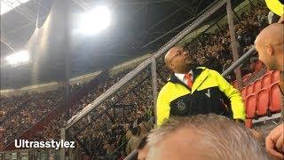 Sfeer tijdens Ajax-PAOK (3-2)