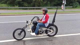 Arie Ride TV :: Short Breakfast Ride Bobber Chopper Custom Motorcycle