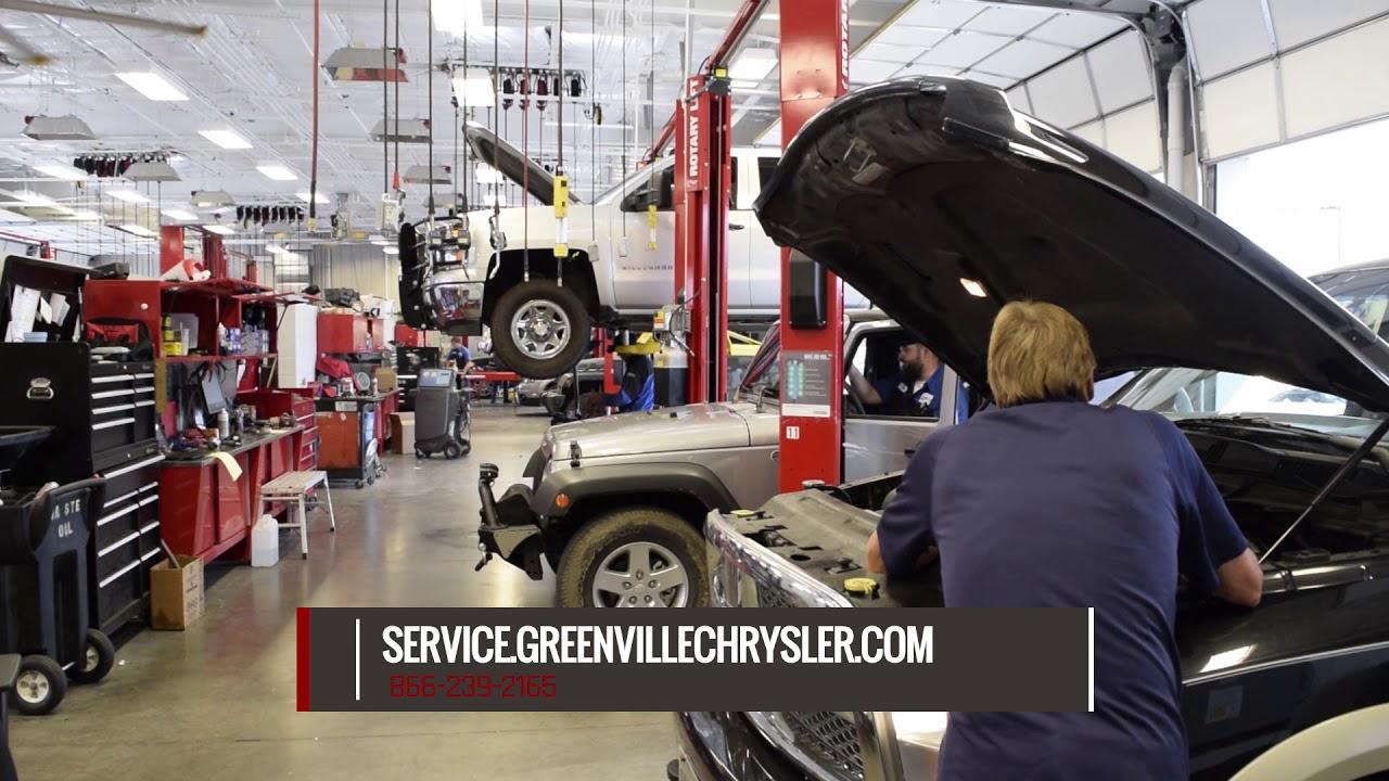 Tire Rotation Greenville TX | Chrysler Dodge Jeep Greenville TX