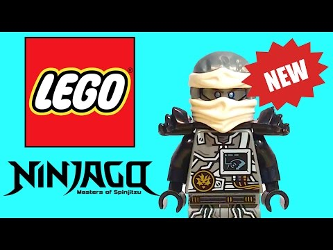 LEGO NINJAGO 2017 NINJAGO ZANE FIGURE IN HAND! - Not Yet Released Hands of Time