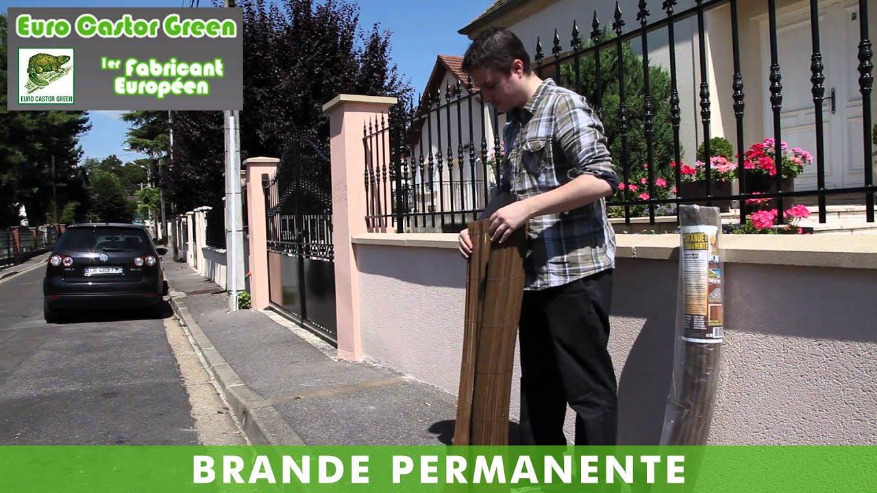 BRANDE PERMANENTE - HAIE ARTIFICIELLE - BRISE VUE ... - Canisse Brico Dépot