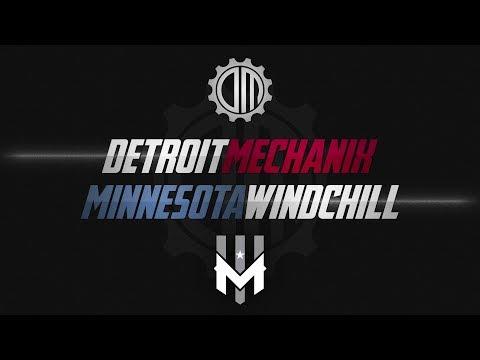 Detroit Mechanix vs Minnesota Wind Chill