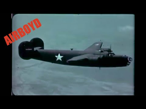Flying The B 24 - 4 Engine Land Bomber (2nd Series)