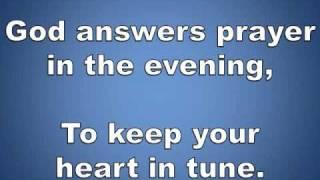 Whisper A Prayer with lyrics hymn piano instrumental
