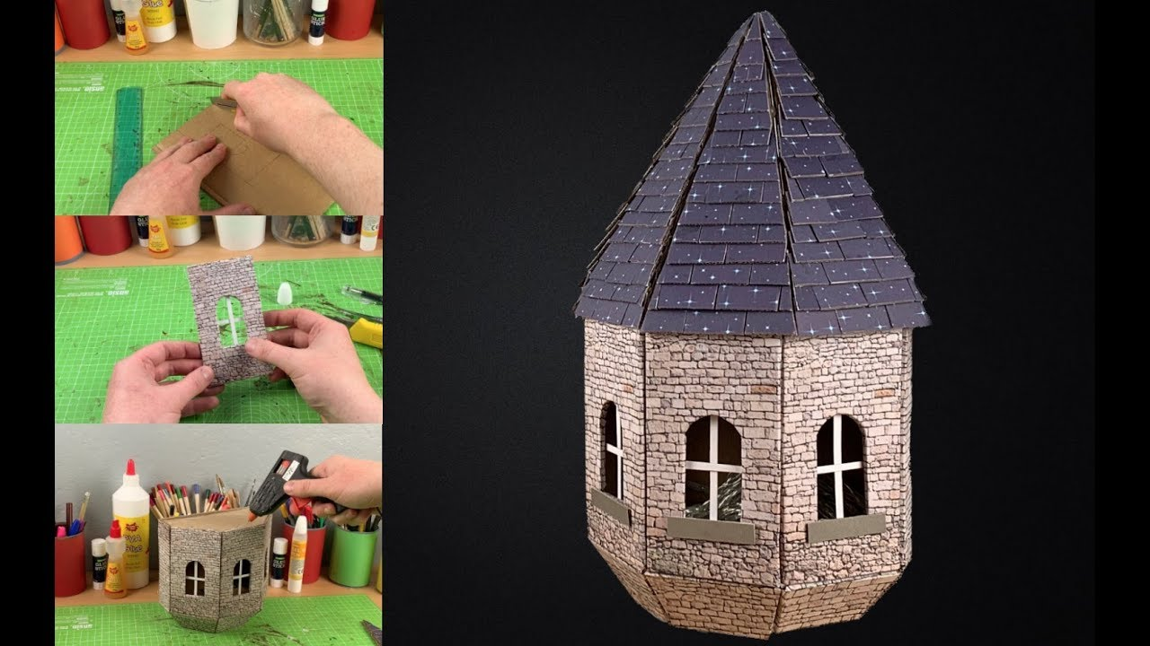 40 Detailed Paper Mache Town And Castle Art Works   720x1280