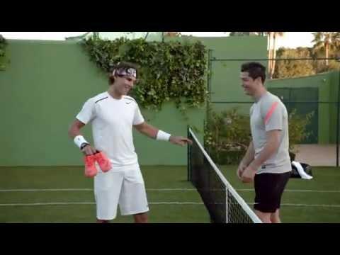 Cristiano Ronaldo vs Rafa Nadal in Nike Commercial