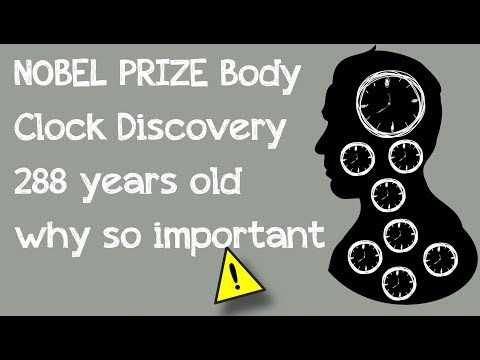 Nobel Prize| Body Clock | 288 years old|why important|full story