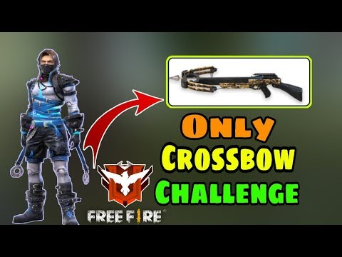 Only Crossbow Challenge || Garena Free Fire || Desi Gamers
