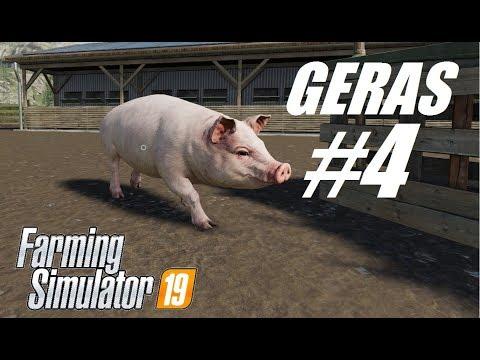 Farming Simulator 2019 #4 // Свиньи // Зачем выращивать картофель, когда есть баги игры