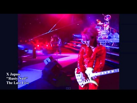 X Japan Rusty Nail From The Last Live HD