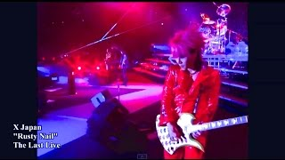 "X Japan Rusty Nail from ""The Last Live"" HD"