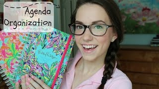 Organizing Your Agenda/ Planner For School!
