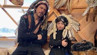 Shah Rukh Khan Adorable Fun With Adorable Son AbRam Khan In London