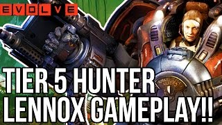 EVOLVE LENNOX GAMEPLAY - TIER 5 HUNTERS!! Evolve Gameplay Walkthrough - Multiplayer (XB1 1080p)