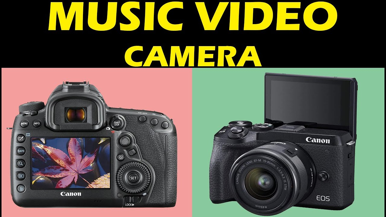 TOP 05: Best Camera for Music Videos of 2021