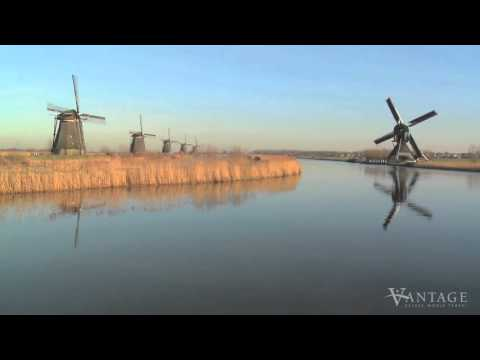 Kinderdijk Windmills  History in Motion