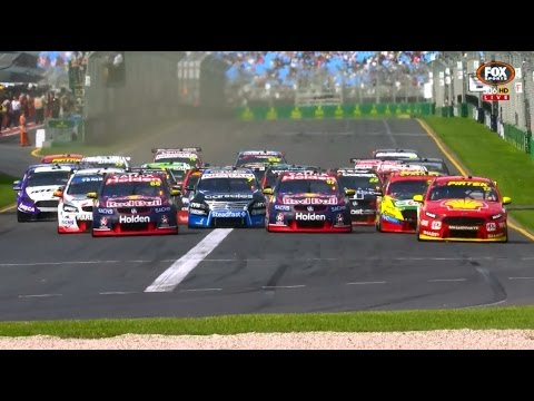 2017 Supercars - Albert Park - Race 4 [HD]