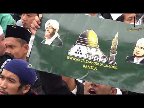 Allahu yaallah Yaa Robbi Sholli'alal Mukhtar Thibbil Qulub(MONAS) MAJELIS RASULULLAH 1 DES 2017
