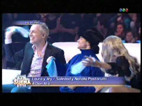 Laura y Jey son Soledad y Natalia Pastorutti en Tu Cara me suena