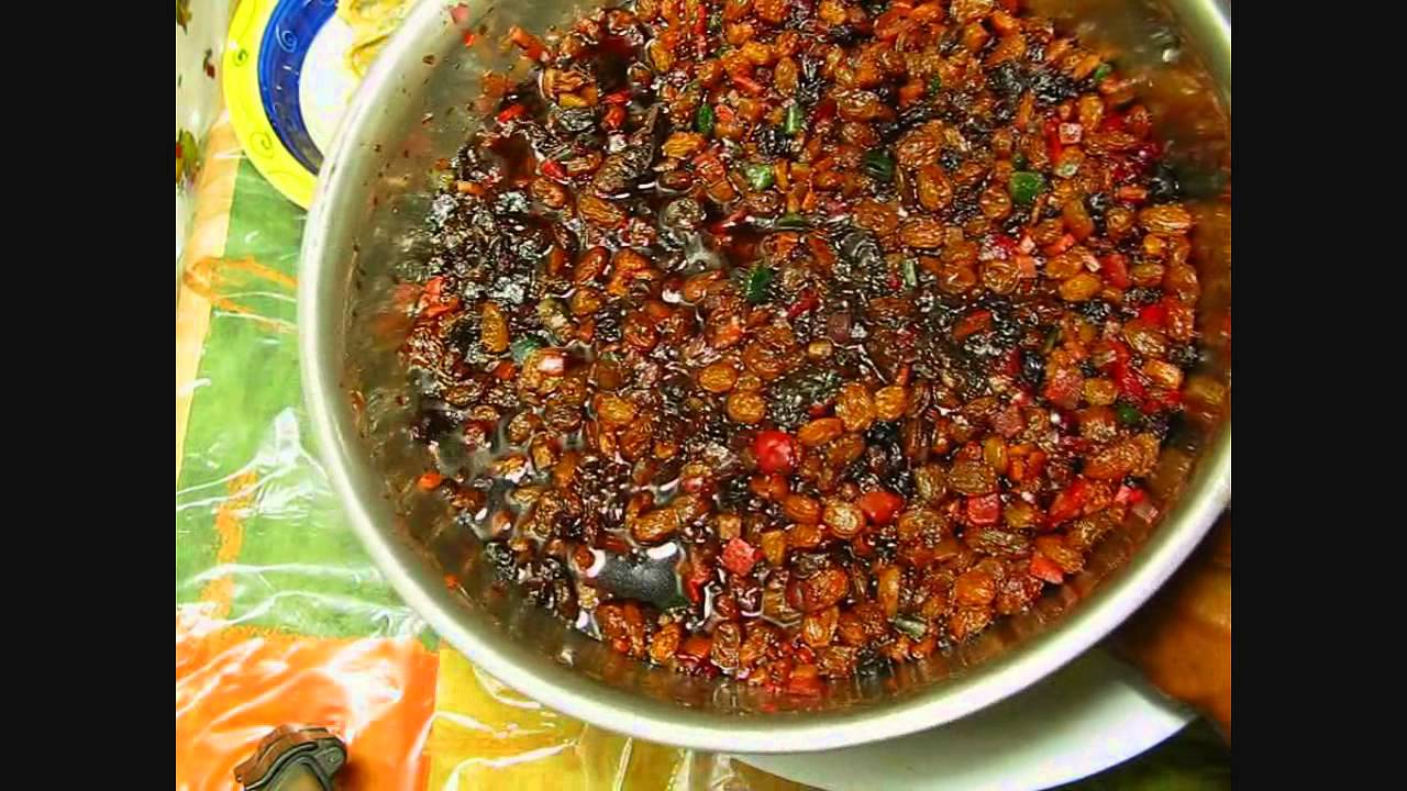 Jamaicas Christmas Cake Video Recipe