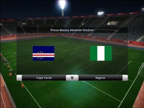 PES 2012 | Cape Verde - Nigeria | Africa Cup of Nations 2013 Group D Matchday 3