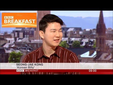 KoreanBilly On BBC Breakfast!
