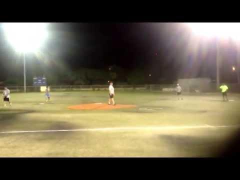 Softball season opener in Grand Cayman
