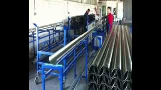 Mašina za izradu profila horizontalnog oluka (Roll Forming Gutter Making Machine)