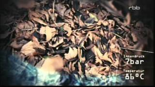 Repeat youtube video 311 Energiewende aus Blätter-Laub-Abälle wird aus 1000 Kg Blätter 800 kg Kohle-Peletts.