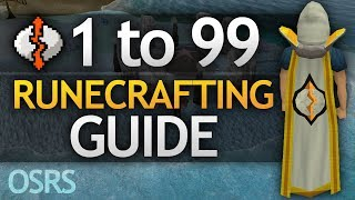 [OSRS] Ultimate 1-99 Runecrafting Guide (Fastest/AFK/Profitable Methods)