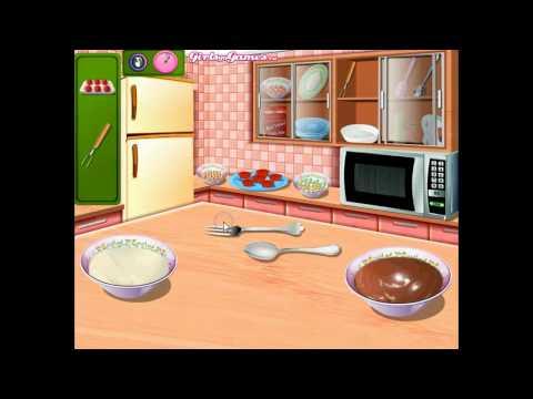 Игра Приготовление кексов в школе Сары