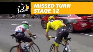 Froome and Aru missed a turn - Stage 12 - Tour de France 2017