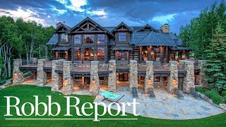 Luxury Colorado Ranch With Its Own Saloon and Private Ski Slop…