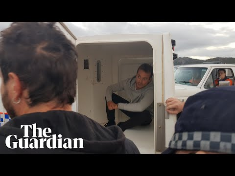 Police arrest French reporter filming anti-Adani protest: 'Journalists should know better'